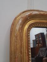 Antique Distressed French Mirror c.1880 (5 of 8)