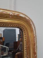 Antique Distressed French Mirror c.1880 (2 of 8)