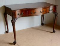 Victorian Mahogany Serving Table