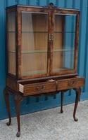 Walnut Display Cabinet (3 of 3)