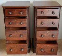 Pair of Mahogany Bedside Chest (5 of 5)