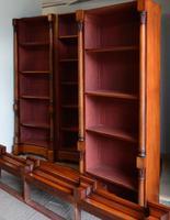 Victorian Mahogany Open Bookcase (2 of 2)