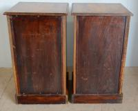 Pair of Victorian Bedside Chest (4 of 6)