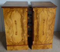 Pair of Victorian Bedside Chest (5 of 6)