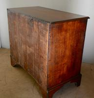 Antique 4 Drawer Oak Chest (5 of 7)