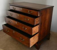 Antique 4 Drawer Oak Chest (3 of 7)