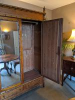 Continental Pitch Pine Wardrobe (5 of 6)