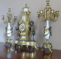 19th Century Style Italian Clock Set (5 of 6)