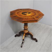 Italian Inlaid Occasional Table c.1880