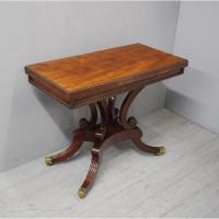 Regency Mahogany Tea Table by William Trotter
