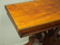 Regency Mahogany Tea Table by William Trotter (9 of 10)