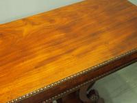 Regency Mahogany Tea Table by William Trotter (8 of 10)