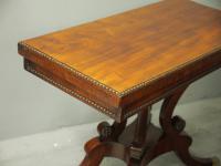 Regency Mahogany Tea Table by William Trotter (5 of 10)