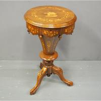Victorian Cone Shaped Work Box