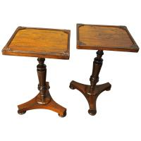 Pair of Regency Rosewood Wine Tables
