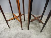 Matched Pair of Inlaid Stands c.1890 (10 of 11)