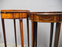 Matched Pair of Inlaid Stands c.1890 (11 of 11)