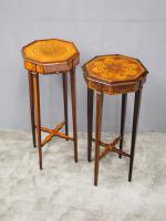 Matched Pair of Inlaid Stands c.1890 (2 of 11)