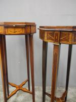 Matched Pair of Inlaid Stands c.1890 (3 of 11)