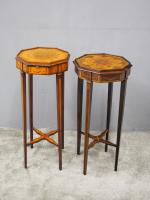 Matched Pair of Inlaid Stands c.1890 (4 of 11)
