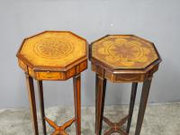 Matched Pair of Inlaid Stands c.1890 (6 of 11)