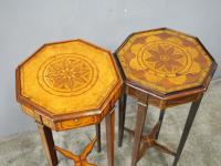 Matched Pair of Inlaid Stands c.1890 (7 of 11)
