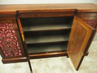 Large George IV Rosewood Side Cabinet (3 of 12)