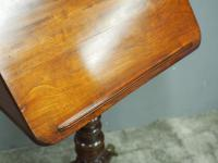 George IV Mahogany Reading Table / Music Stand (3 of 12)