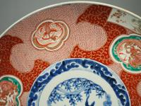 Matched Pair of Imari Chargers on Stands (3 of 12)
