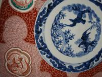 Matched Pair of Imari Chargers on Stands (4 of 12)