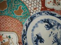Matched Pair of Imari Chargers on Stands (5 of 12)