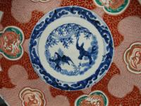 Matched Pair of Imari Chargers on Stands (6 of 12)
