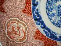 Matched Pair of Imari Chargers on Stands (9 of 12)