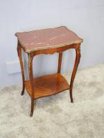 French Marble Two Tier Table c.1880 (5 of 10)