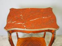 French Marble Two Tier Table c.1880 (7 of 10)