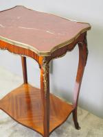 French Marble Two Tier Table c.1880 (8 of 10)