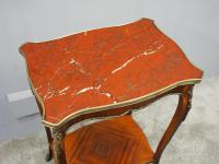French Marble Two Tier Table c.1880 (9 of 10)
