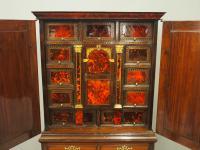 Flemish Mahogany & Tortoiseshell Cocktail Cabinet (14 of 20)