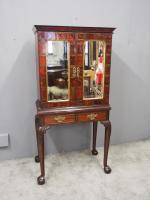 Flemish Mahogany & Tortoiseshell Cocktail Cabinet (5 of 20)