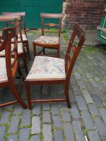 Set of 10 George III Inlaid Mahogany Dining Chairs (11 of 11)
