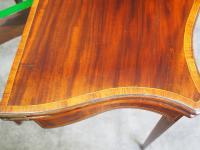 Hepplewhite Style Inlaid Mahogany Card Table (8 of 11)