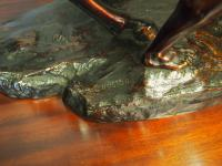 Pair of Cast Bronze Marly Horses after J Coustou (12 of 13)