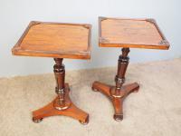 Pair of Regency Rosewood Wine Tables (2 of 11)