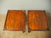 Pair of Regency Rosewood Wine Tables (10 of 11)