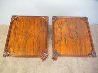 Pair of Regency Rosewood Wine Tables (11 of 11)