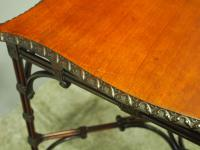Chippendale Style Mahogany Occasional Table c.1900 (5 of 8)