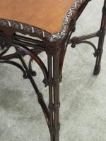 Chippendale Style Mahogany Occasional Table c.1900 (6 of 8)