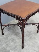 Chippendale Style Mahogany Occasional Table c.1900 (7 of 8)