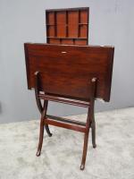 Mahogany Folding Campaign Desk C.1900 (9 of 13)
