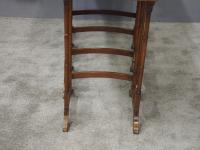 Sheraton Style Inlaid Mahogany Nest of Tables c.1900 (9 of 14)